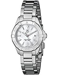 TAG Heuer Womens WAY1412.BA0920 Aquaracer Analog Display Quartz Silver Watch