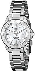 TAG Heuer Women's WAY1412.BA0920 Aquaracer Analog Display Quartz Silver Watch