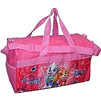 "Group Ruz Paw Patrol Girls 18"" Pink Duffel Bag Standard"