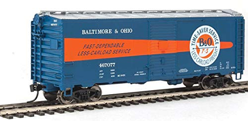 Walthers HO Scale 40' AAR 1944 Boxcar Baltimore & Ohio/B&O (Time-Saver) #467077