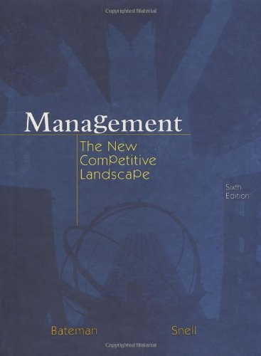Management: The New Competitive Landscape with CD and PowerWeb