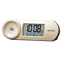 Seiko Clocks Digital Digital Quartz Alarm Clocks of Plastic QHL067A