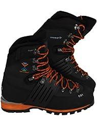 Tefaneso Mountaineering Boots Men Mountain Walking Trekking Alpine Winter Snow Waterproof Service Utility