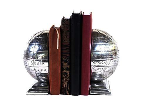 Aparador De Livros Globo Sarquis Samara Prata