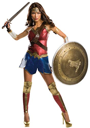 Rubie's Women's Batman v Superman: Dawn of Justice Grand Heritage Wonder Woman Costume, Multi, -