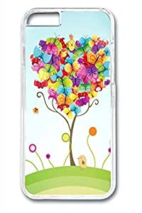 Colorful Butterfly Slim Soft Cover Case For Iphone 5/5S Cover PC Transparent Cases