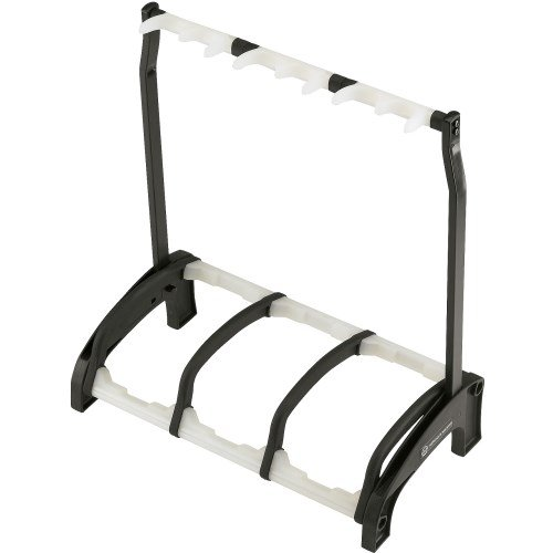 Elements Stand (K&M Stands 17513.016.00 Three guitar stand Guardian 3 - black with translucent support elements)