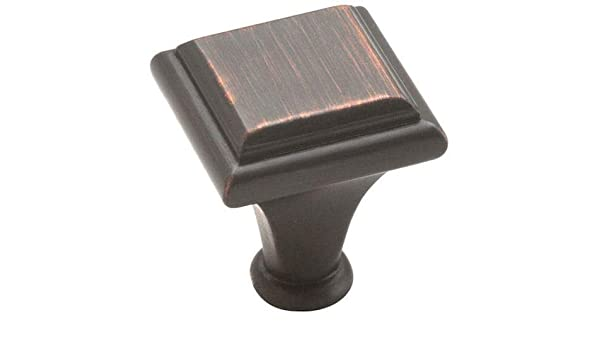 Cabinet Hardware Oil Rubbed Bronze Knobs #26131-ORB