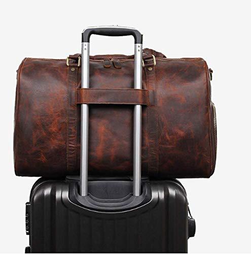 Viaggio In Con Pelle Packaging Portatile Di Casual Borsa Circlefly Qualità B Fitness Alta Da Uomo IzwURgx1