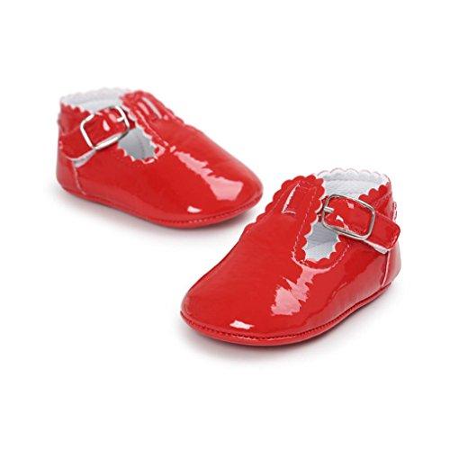 Prevently Kleinkind Leder Rot Flops Baby Freizeitschuhe Baby Turnschuhe Schuhe Baby Schuhe Prinzessin Kleinkind Flip 6wAv6rqx