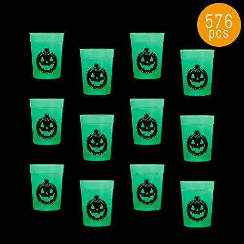 Lumistick Flashing Halloween Cup | Nightclubs Pumpkin Drawing