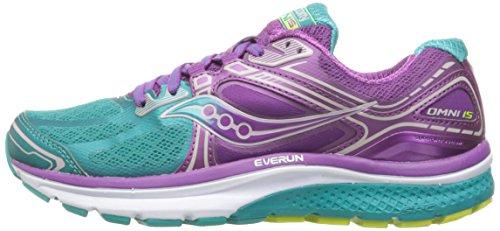 Omni Tea Running Saucony Para De 15 purple Zapatillas Mujer Uxfdf40q