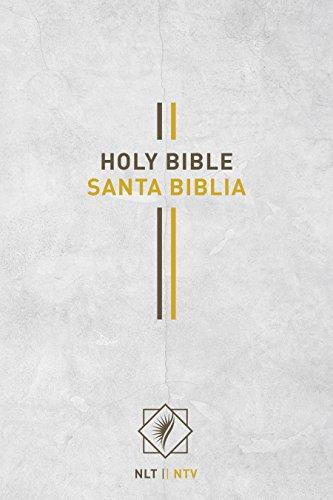 Bilingual Bible/Biblia bilingue NLT/NTV (English and Spanish Edition) (Tapa Dura)