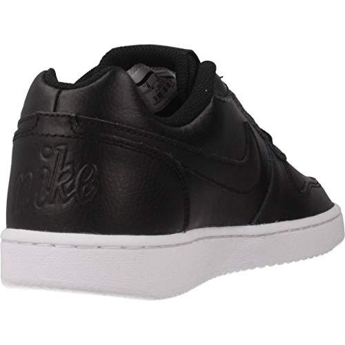 white 001 Ebernon black Para Wmns Baloncesto Low De Mujer Negro black Nike Zapatillas 5x7zwPFqF
