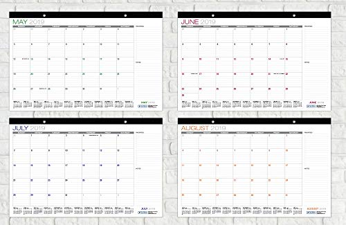 Desk Calendar 2018-2019: 11''x17'' - (Runs from July 2018 Through December 2019) (1 Pack) by Global Printed Products (Image #6)