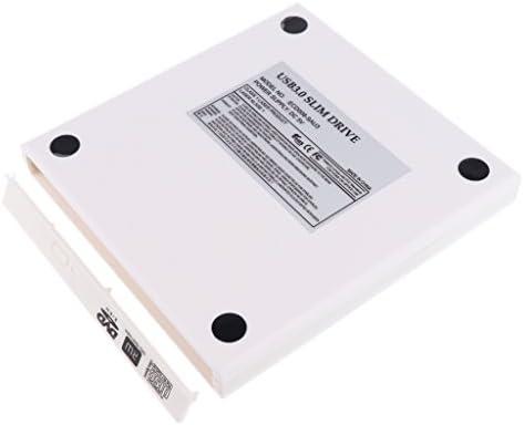 12.7mmオプティカル SATAドライブ 外部USB 3.0エンクロージャケースカバー 最大5Gbpsのデータ転送速度 - ブラック