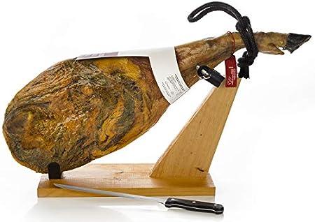 Jamon Iberico de Bellota (Paleta) 4 - 4.5 Kg + Jamonero + Cuchillo