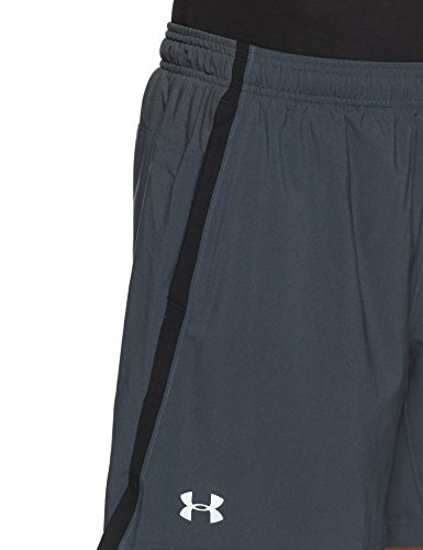 Under Armour Men's Launch 2-in-1 Shorts, Stealth Gray (008)/Reflective, Medium by Under Armour (Image #4)