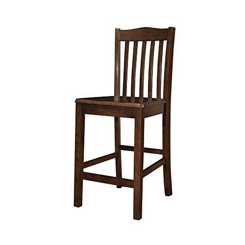 Dorel Living Brookville Counter Height Dining Chairs (Set of 2)