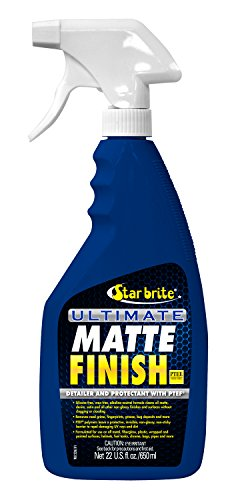 Star brite Ultimate Matte Finish w/PTEF - Cleaner, Detailer & Protectant - 22 oz Spray
