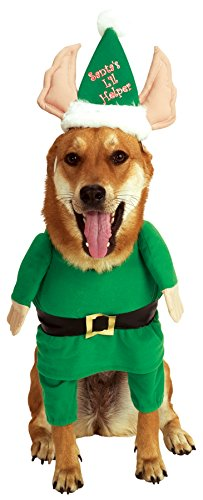 Rubie's Santa's Little Helper Elf Pet Costume, Small -