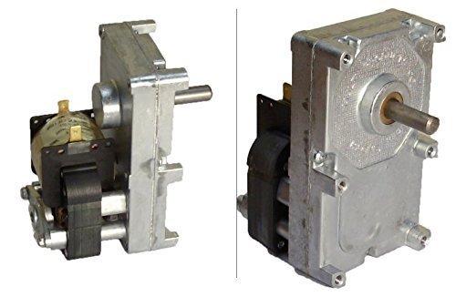 Pellet Stove Auger Gear Motor, 1 RPM, 115V, 0.19 amps (Whitfield Quest, Merkle-Korff, Earth stove)
