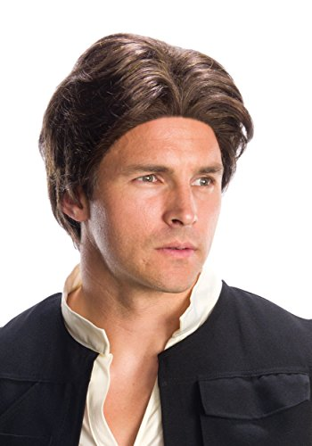 Rubie's Costume Co. Inc Mens Star Wars Adult Han Solo Wig (Han Solo Girl Costumes)