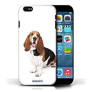 KOBALT? Protective Hard Back Phone Case / Cover for Apple iPhone 6/6S   Basset Hound Design   Dog Breeds Collection