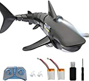 2.4G Remote Control Shark Toy 1:18 Scale High Simulation Shark Shark for Swimming Pool Bathroom Great Gift RC