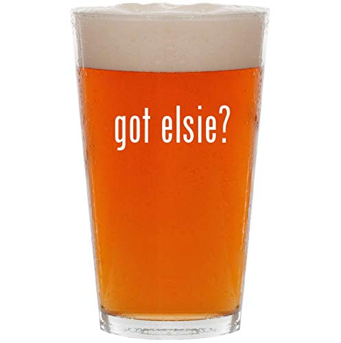 got elsie? - 16oz All Purpose Pint Beer Glass for sale  Delivered anywhere in USA