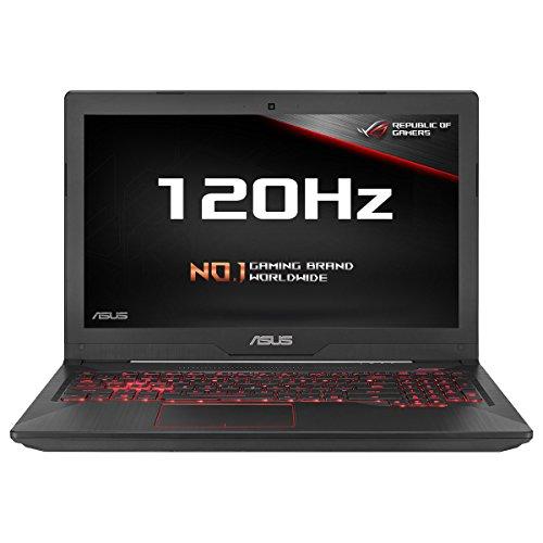 ASUS FX503VM-EN184T 15.6-inch Full HD 120 Hz Screen Gaming Laptop (Black) -...