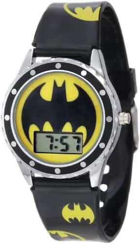 Batman Kids' BAT4068 Logo Watch