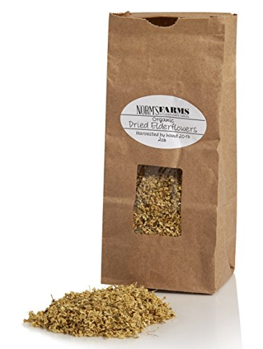 Norm's Farms Naturally Grown Dried Elderflowers, 2 Ounces ()