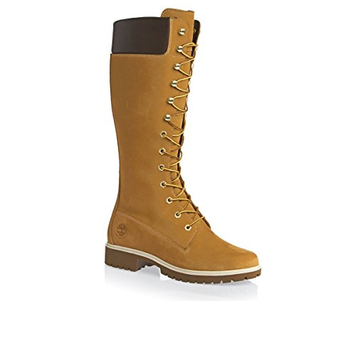 Prem Donna Beige alti Stivali Wheat Woms 14In Timberland Wheat vW8wqB5HT