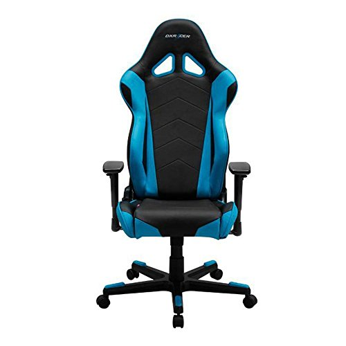 DXRacer OH/RE0/NB Ergonomic, High Quality Computer Chair for Gaming, Executive or Home Office Racing Series Blue / Black