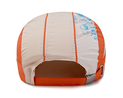 Home Prefer Kids Toddlers Lightweight Sun Hat Cotton Mesh Sun Protection Hats (Khaki) by Home Prefer (Image #3)