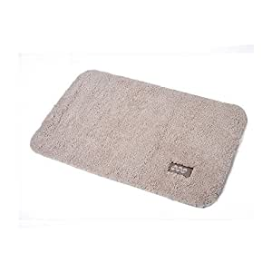 FaSoLa Non-slip Microfiber Floor Doormat (Beige)