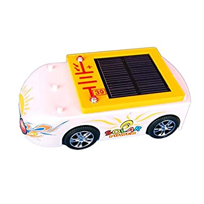 Solar Wholesale 5001 Solar Car and AA Battery Charger Solar Educational Kit. Kids 5+, Snap on Design.: Toys & Games