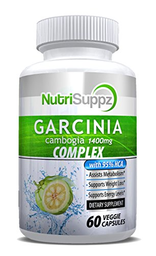 100% Pure Garcinia Cambogia Complex | 95% HCA Weight Loss Pills | Elite Diet Supplement for Women and Men | Supports Fast Weight Loss and Curbs Appetite