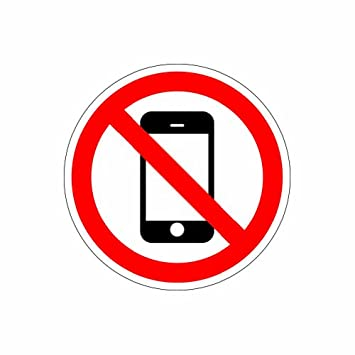 no cell phone