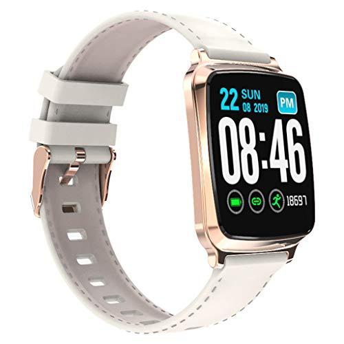 Matoen Sport Fitness Smart Watch Band Heart Rate Blood Pressure Sleep Monitoring SmartWatch Pedometer Tracker (White)