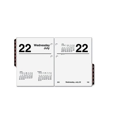 AT-A-GLANCE - Recycled Compact Desk Calendar Refill, 3' x 3 3/4', 2017 E919-50 (DMi Ea