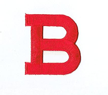 Amazon com: Alphabet Letter - B - Color Red - 2