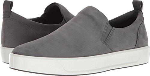 ECCO Men's Soft 8 Slip on Sneaker, Dark Shadow, 42 M EU (8-8.5 US) -