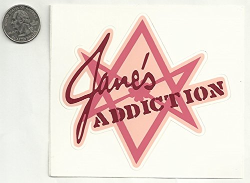 Gear Tatz JANE'S ADDICTION Sticker/Decal