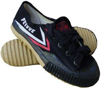 Martial Arts Kung Fu Sneakers Jogging Walking Training Shoes (Blalck, 46 Men 12 Women 13)