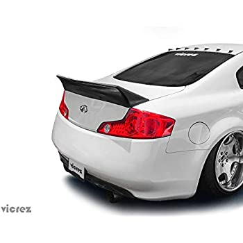 Fits G35 Coupe NEW OE Factory Style Painted Spoiler Wing Redline Clearcoat AX6