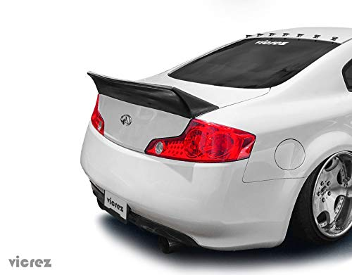 Vicrez Infiniti G35 Coupe 2003-2007 RB Style Rear Ducktail Wing Spoiler vz100939