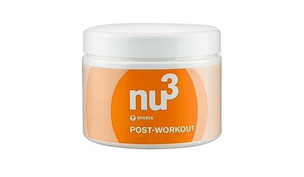 Post-it Workout polvo de NU3, 250 g, Recovery Drink, regenerativ, deportes tipos, nutrientes Reich: Amazon.es: Salud y cuidado personal
