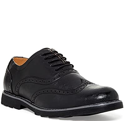 Giraldi Travus Mens Fashion Wingtip Oxfords